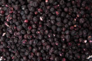 Freeze dried whole wild blueberries
