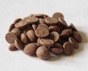 Callebaut milk chocolate callets 33,6% cocoa solids